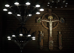 Masthuggskyrkan, Gteborg (grzegorz_wdowiak) Tags: wood church gteborg wooden europe cross sweden interior gothenburg scandinavia goteborg 2016 masthuggskyrkan woodenarchitecture masthugg masthuggchurch