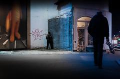 three pairs of legs (Zlatko Vickovic) Tags: street color night serbia streetphotography novisad vojvodina srbija nightcity streetcolor nightstreetphotography