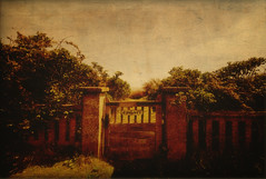 Private (nigdawphotography) Tags: sea texture beach garden private seaside gate grunge thorpness