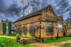 Smithills Hall (Kevin From Manchester) Tags: old architecture canon northwest lancashire bolton historical 1855mm hdr tudormanor kevinwalker smithillshall canon1100d