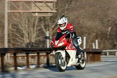 Honda 1601310458w (gparet) Tags: road bridge curves scenic motorcycles bearmountain motorcycle overlook windingroad twisties goatpath goattrail