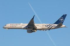 Delta Air Lines Boeing 757-231; N722TW@LAX;03.02.2016 (Aero Icarus) Tags: california plane aircraft lax flugzeug takeoff avion boeing757 losangelesinternationalairport deltaairlines n722tw