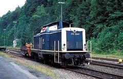 Calw  1995  212 224 (w. + h. brutzer) Tags: analog train germany deutschland nikon v100 eisenbahn railway zug trains db locomotive 212 lokomotive diesellok eisenbahnen calw dieselloks webru