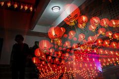 CHINESE NEW YEAR EVE'S 2016 (dinkiller) Tags: people reflection temple buddha buddhist photojournalism chinesenewyear malaysia lanterns kualalumpur journalism humaninterest 2016 theanhoutemple canon1dmarkiii canon1dmark3