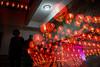 CHINESE NEW YEAR EVE'S 2016 (dinkiller) Tags: people reflection temple buddha buddhist photojournalism chinesenewyear malaysia lanterns kualalumpur journalism humaninterest 2016 theanhoutemple canon1dmarkiii canon1dmark3