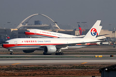 China Cargo Boeing 77F's (Mark Harris photography) Tags: plane aircraft aviation lax spotting