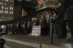Chisholm_NewsSpot_6 (johannachisholm) Tags: newyorkcity ny unitedstatesofamerica protest tibet unionsquare march2016