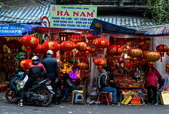 Tet Shops (TigerPal) Tags: street red shop gold store vietnamese market fireworks vietnam newyears tet hanoi oldcity firecrackers vietnamesenewyear lunarnewyears tetparaphenalia