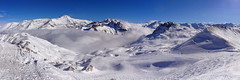 Fog in the valley (sonic182) Tags: mountain snow ski france mountains alps fog snowy val valley tignes slope espace disere killy franciaorszg
