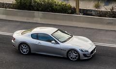 Maserati Granturismo (rOOmUSh) Tags: auto car gray spot exotic maseratigranturismo