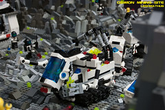 14_Multifunctional_Mining_Unit (LegoMathijs) Tags: expedition layout wire mod energy power lego crystal space el vehicles astronauts modular planet scifi 20 functions mindstorms sattelite drill containers grapple spaceships miners moc nxt ores legomathijs oswion