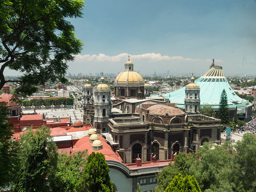 View of Mexico City from Cerrito Chapel