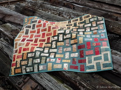 Fertig - After Eight Quilt (Sockenhummel) Tags: fuji quilt decke finepix fujifilm patchwork aftereight x20 handarbeitensabine fujix20 sahummel sahummeldesign