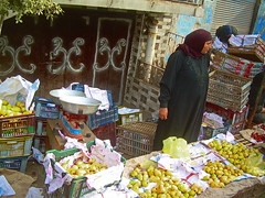 Rural market, Egypt (Mohamad Khedr) Tags: black fruits yellow lady rural flora market hijab guava egipto gypten egipte egypte egito egypten trader egiptus egipt msr  misr   egypti egyiptom    aicp ipte