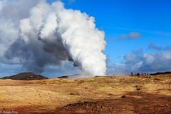 Gunnuhver (holger.torp) Tags: cloud hot landscape spring outdoor geyser geothermal reykjanes hver gunnuhver hverasvi