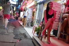 Happy street (Martyn61) Tags: street travel light woman man money girl sex night thailand shoes legs streetphotography social tourist walker massage fujifilm redlight fm hookers pattaya loveforsale punters sexsells redshorts workinggirls soi6 classicchrome x100t