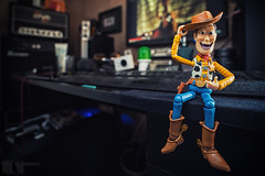 Hi! My name is Woody! (M.Visions Photographie) Tags: toy action sony woody story figure a7ii strobist revoltech secretlifeoftoy yongnuo kaiyado yn560 laowa15mm