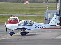 G-CCSR EV97 (Aircaft @ Gloucestershire Airport By James) Tags: james airport gloucestershire lloyds ev97 egbj gccsr