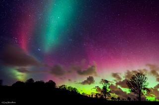 Crazy Sky - Aurora Borealis, Northumberland