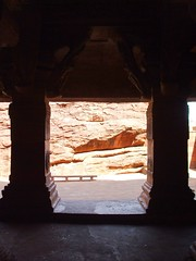 Rock 2 (Voyou Desoeuvre) Tags: india places badami