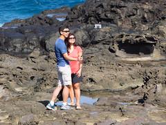 selfie time (dolanh) Tags: hawaii maui nakaleleblowhole kahekilihighway selfiestick
