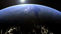 Morning over Valles Marineris (Kevin M. Gill) Tags: mars sunrise space future terraforming vallesmarineris livingmars