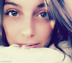 I only have eyes for you.......... (nana <>) Tags: portrait woman closeup mujer eyes chica occhi sguardo ojos alessandra mirada ritratto