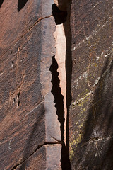 Silhouette of San Francisco Peaks (Rick Brumble) Tags: petroglyph rockart sinagua vbarvheritagesite
