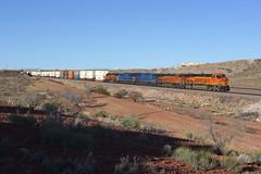 BNSF 8366 Kingman AZ (Gridboy56) Tags: railroad arizona usa america train az trains locomotive ge railways bnsf locomotives generalelectric kingman railfreight gecx