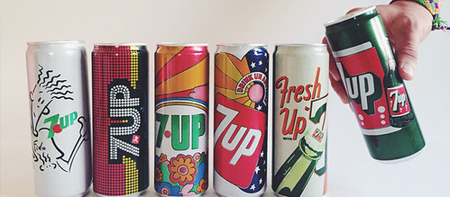 2015 #7Upvintage Limited Edition Art Series Cans issued by PepsiCo (but NOT in USA)