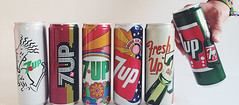 2015 #7Upvintage Limited Edition Art Series Cans issued by PepsiCo (but NOT in USA) (btreat) Tags: vintage retro pepsico 7up uncola drpeppersnapplegroup limitededitioncans 7upvintage limitededitionartseries lilitededitionartseries 7upart