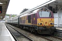 67001 at Newport (Railpics_online) Tags: class67 diesel locomotive loco ews 67001 newport