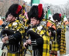 Shamrock and Thistle Pipe Band
