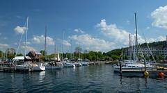 Watkins Glen Marina (Elena Berd) Tags: lake marina boats boat harbour sail fingerlakes senecalake watkinsglen
