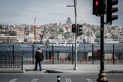 Sirkeci / Istanbul (basarturhan) Tags: architecture turkey landscape day cloudy outdoor istanbul bosphorus