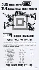 Sher 1963 (Runabout63) Tags: advert sher drill powertool