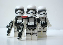 Stormtroopers Heavy Gunner First Order I (Blacktron2011) Tags: star order force lego first figure stormtrooper wars custom heavy gunner commander awakens