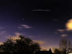ISS South Wales (Joseph Mac'Q) Tags: longexposure night dark dusk iss lighttrail internationalspacestation