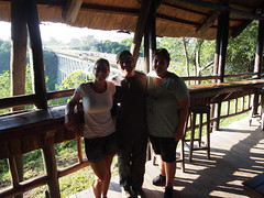 We bungy'd and survived!! (little_duckie) Tags: africa zimbabwe bungy bungee zambezi bungyjump zambeziriver 111metres