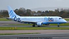 2014_10_25_MAN0078 (COOLMORE PHOTOGRAPHY) Tags: man manchester airport aircraft airliner airliners manchesterairport embraer egcc flybe embraer175 e175 gfbjg