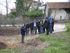 Atelier compost avec le Lycée Victor Duruy Paris 7, Mars 2016