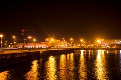 Pesciera del Garda (sandyA73) Tags: city travel italien bridge sea sky italy holiday water night see reisen nikon europa europe urlaub explore d5100 sandya73