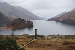 The Glenfinnan Monument (mattgilmartin) Tags: monument water scotland loch
