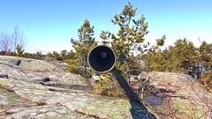 Artillery's pipe (Holtsun napsut) Tags: park sea suomi finland landscape island outdoor east tokina national meri itmeri kansallispuisto saari 1116mm r patikointi