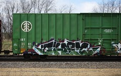 They (quiet-silence) Tags: railroad art train graffiti railcar they boxcar graff freight act tko fr8 ibt ibt21019