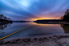 Colors of Twilight (John Cothron) Tags: longexposure winter sky usa cloud cold reflection beach nature digital sunrise georgia landscape morninglight us sand outdoor unitedstatesofamerica gainesville scenic stormy lakeshore thesouth dixie 15mm highiso lakelanier carlzeiss hallcounty americansouth southernregion 35mmformat johncothron canoneos5dmkii southatlanticstates cothronphotography colorsoftwilight keithbridgepark distagon1528ze zeissdistagont2815mmze ©johncothron img13218160316
