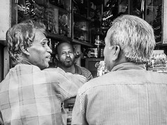 (milan syangbo) Tags: street nepal friends blackwhite eyecontact friendship candid streetphotography streetlife streetphoto blackdiamond streetshot candidshot shopkeeper mirrorless streetpassionaward olympusomdem10