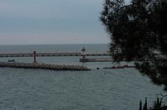 Сочинский морской вокзал (fototravels.info) Tags: закат россия сочи seasunset морскойпейзаж