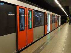 Amsterdam: Metro at Nieuwmarkt (harry_nl) Tags: netherlands station amsterdam metro nederland nieuwmarkt 2016