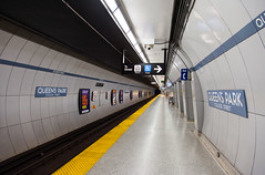 Queen's Park Station (Jack Landau) Tags: park city urban toronto ontario canada station underground subway 1 metro ttc tube rail line queens transportation transit